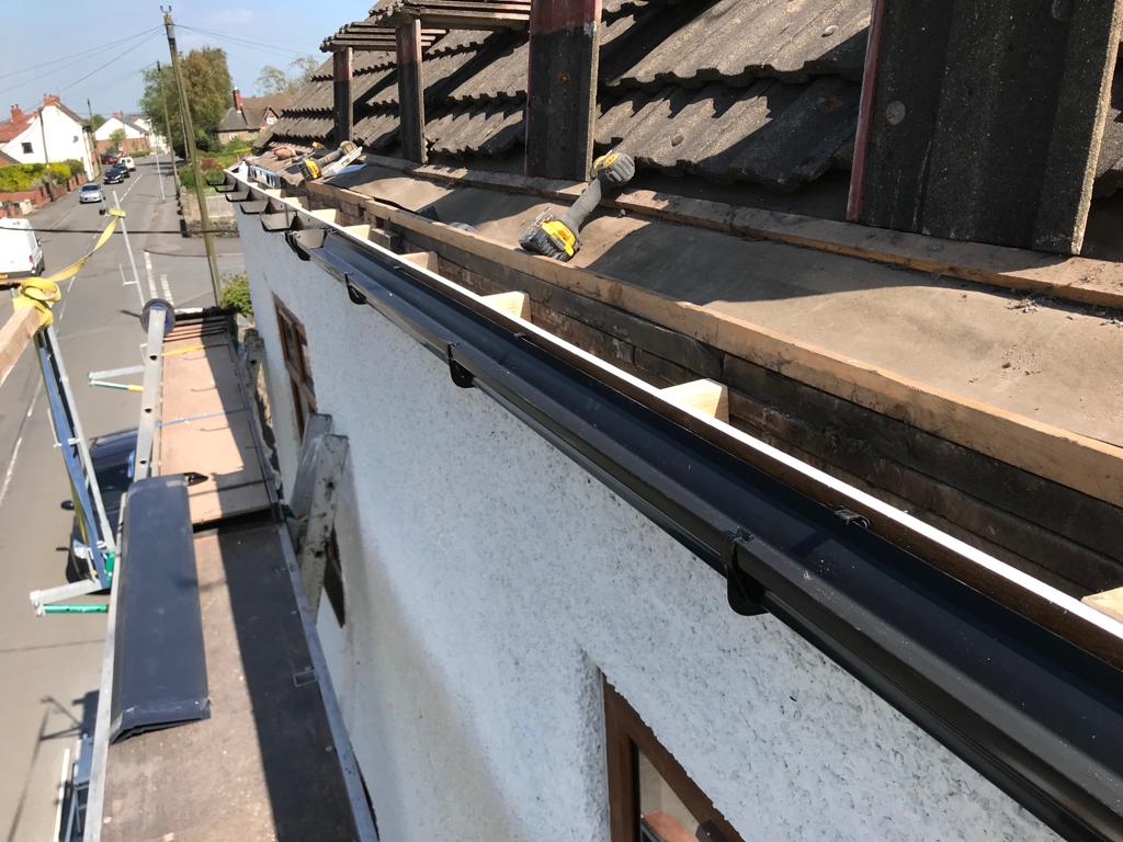 Guttering, fascias, and soffits