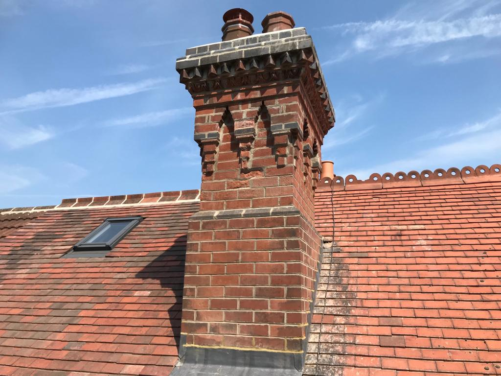 Chimneys and leadwork